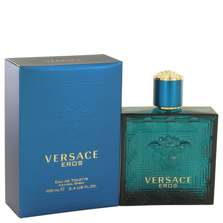 Perfume Versace Eros Masculino Eau de Toilette -100 ML