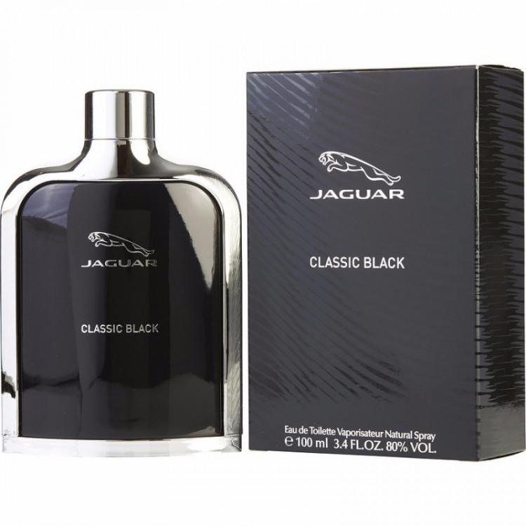 Perfume Jaguar Classic Black Masculino Eau de Toilette -100 ML