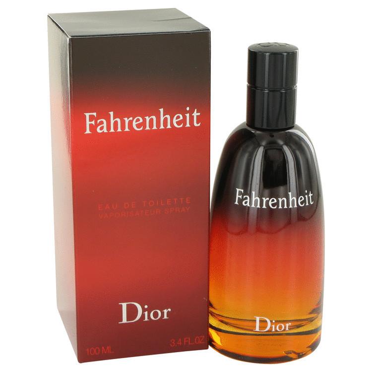 Perfume Fahrenheit Eau De Toilette Perfume Masculino Dior 100 ML