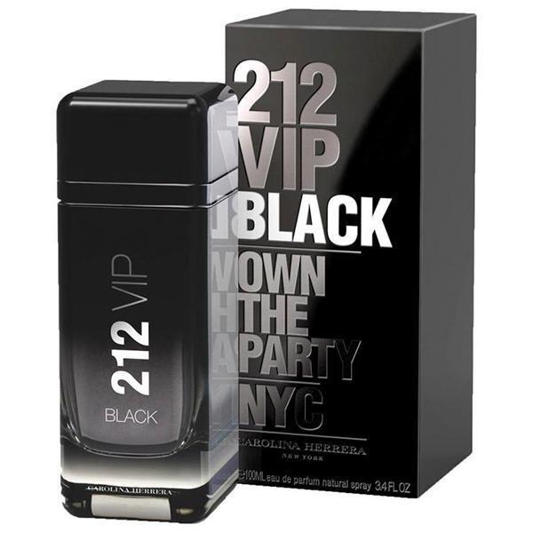 Perfume 212 VIP Black Carolina Herrera Eau de Parfum-100 ML