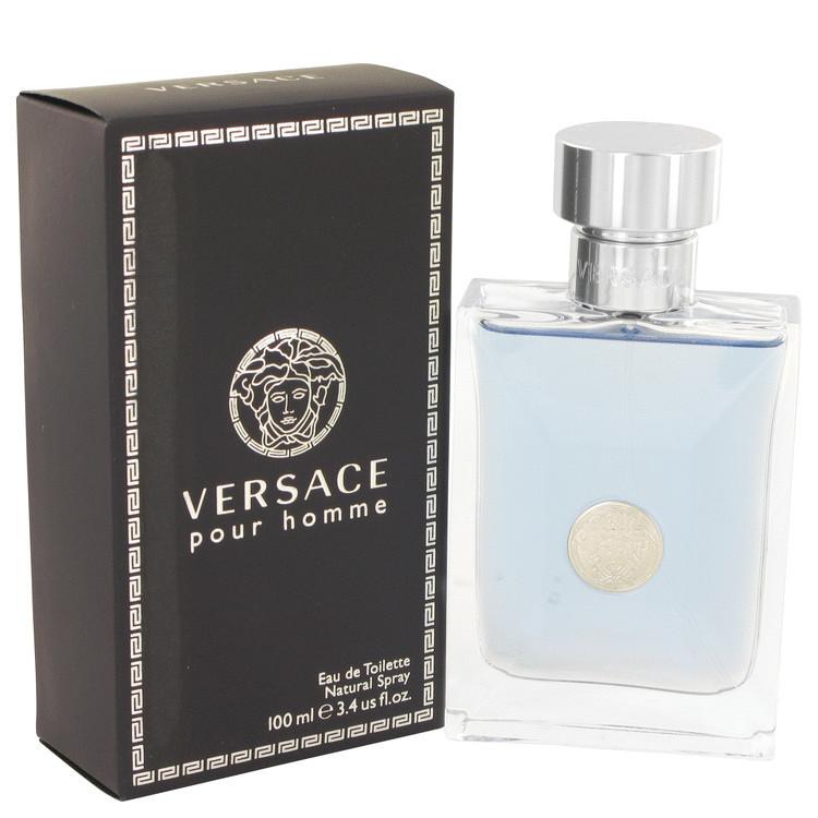 Perfume Versace Pour Homme Masculino Eau de Toilette-100 ML