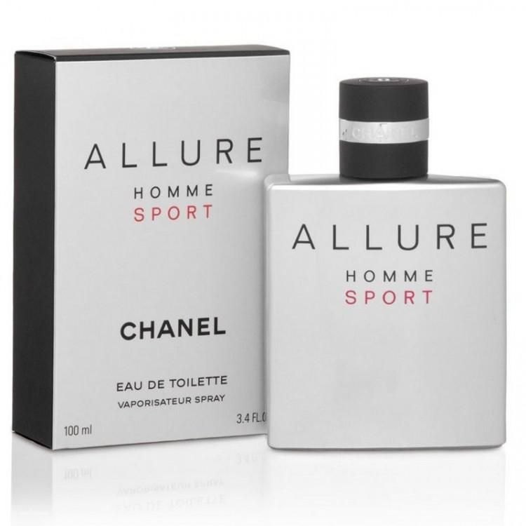 Perfume Allure Homme Sport Masculino Eau de Toilette  Chanel-100 ML