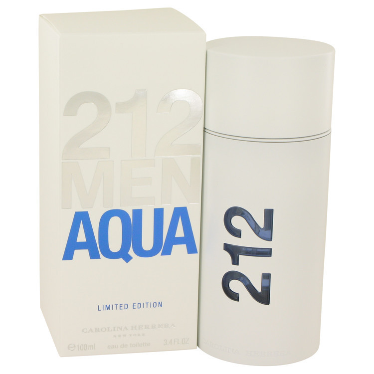 Perfume 212 Men Aqua Eau de Toilette Carolina Herrera -100 ML