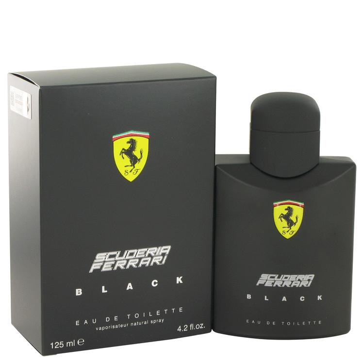 Perfume Ferrari Black Masculino Eau de Toilette-125 ML