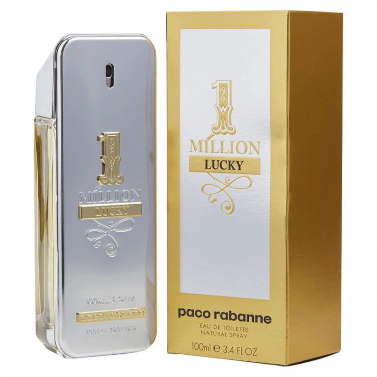 Perfume 1 Million Lucky Paco Rabanne Eau de Toilette- 100 ML