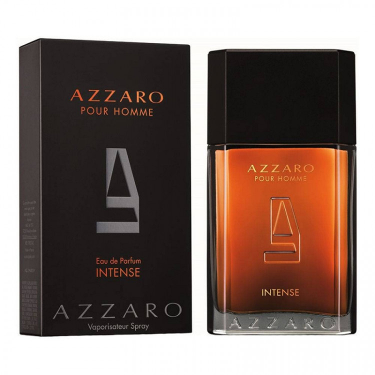PERFUME AZZARO INTENSE POUR HOMME EAU DE PARFUM MASCULINO -100 ML