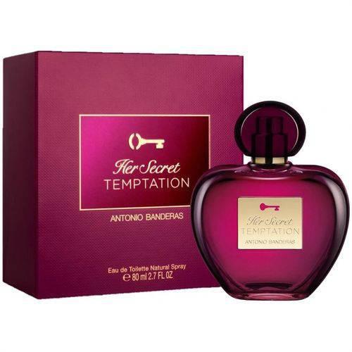 Perfume Feminino Antonio Banderas Her Secret Temptation-80 ML
