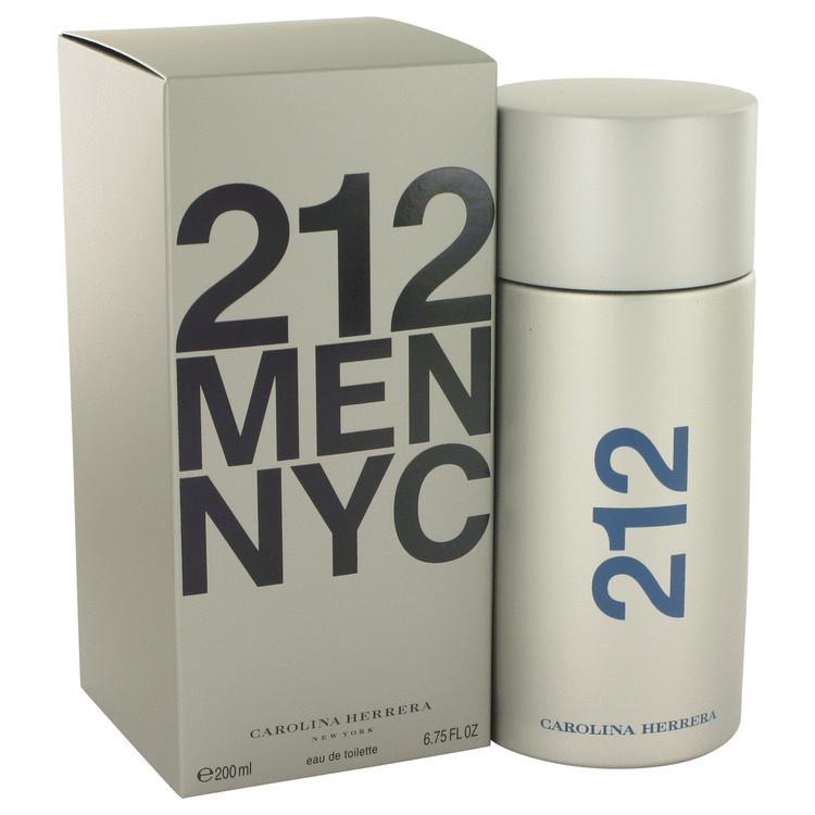 Perfume Carolina Herrera 212 Men Nyc Eau de Toilette-200 ML
