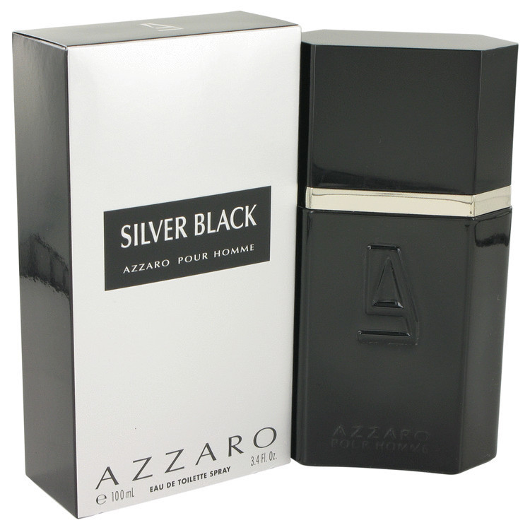 PERFUME AZZARO SILVER BLACK EAU DE TOILETTE-100 ML