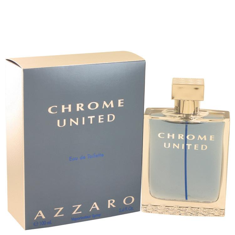 PERFUME AZZARO CHROME UNITED EAU DE TOILETTE-100 ML