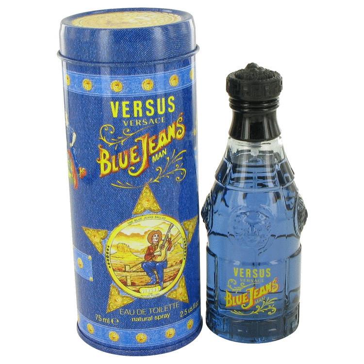 Perfume Versace Blue Jeans Masculino Eau de Toilette 75 ML