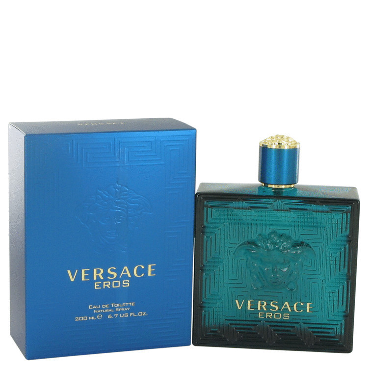 Perfume Versace Eros Masculino Eau de Toilette 200 ML