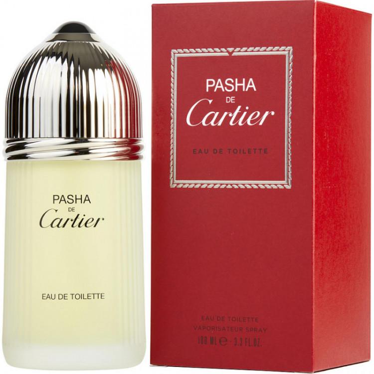 Perfume Masculino Pasha de Cartier Eau de Toilette 100 ML