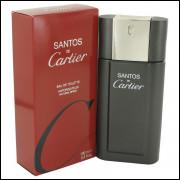 Perfume Masculino Cartier Santos de Cartier Eau de Toilette 100 ML