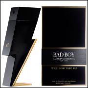 Perfume Bad Boy Carolina Herrera Masculino Eau de Toilette 100 ML
